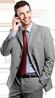 biznesmen z telefonem