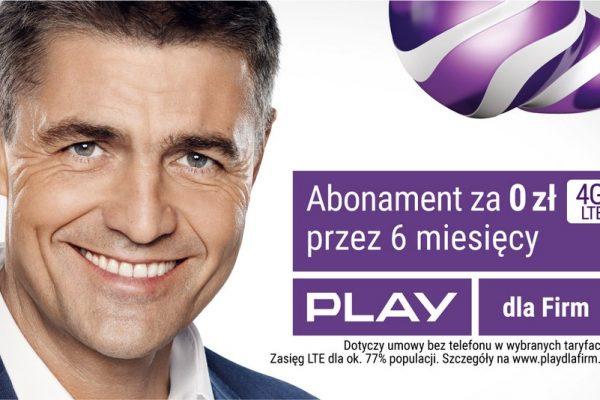 Hołowczyc Play 6 miesięcy za free dla firm