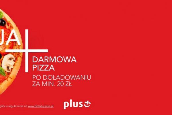 Darmowa pizza w Plusie