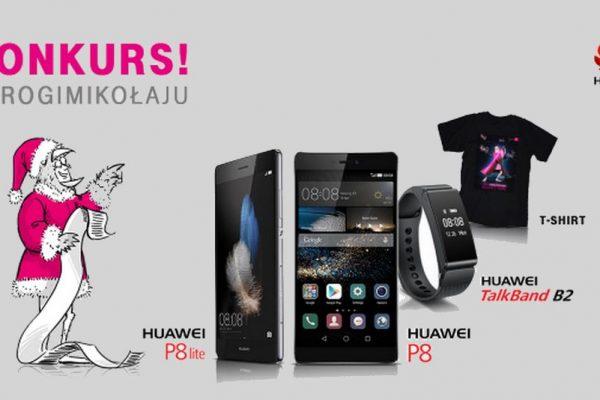 Konkurs T-Mobile i Huawei na Twitterze