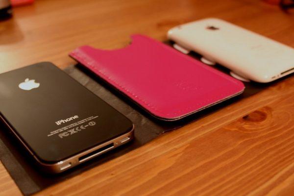 iPhone 6 z futerałem