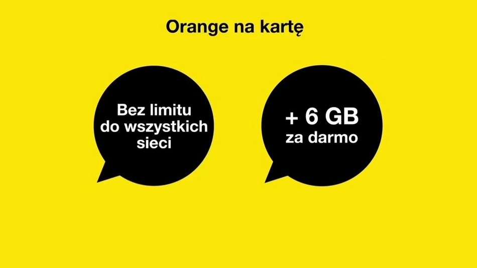 Orange na kartę no limit z darmowymi 6 GB | Komórkomat.pl