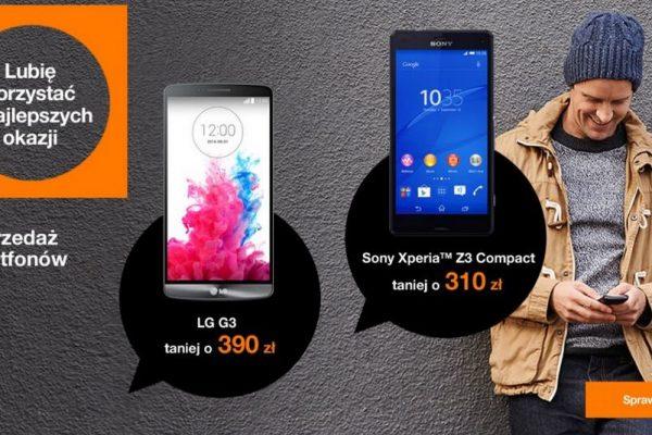 tańsze smartfony w Orange