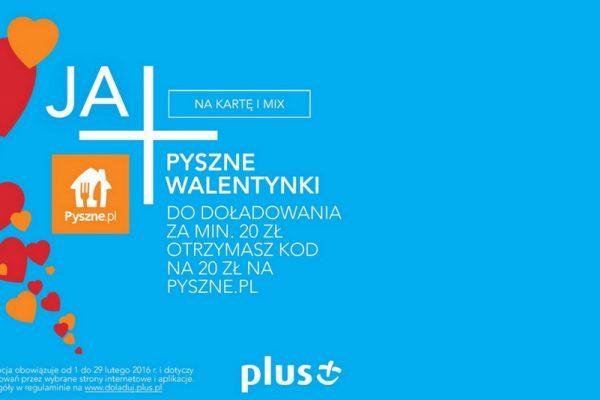 Kody promocyjne 20 zł na pyszne.pl w Plusie