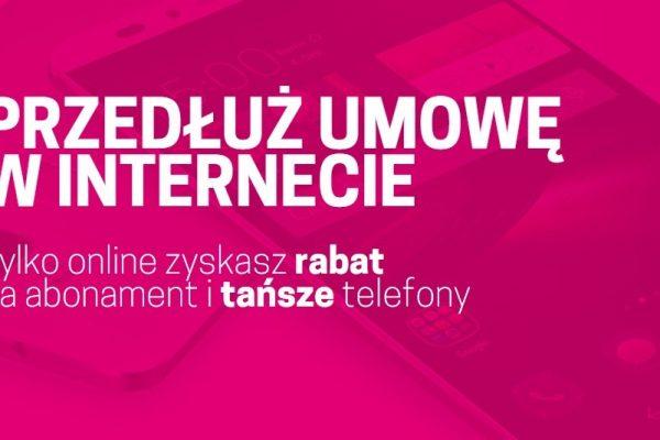 Rabaty online dla przedłużających umowę w T-Mobile