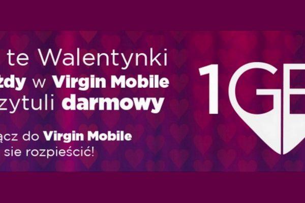1 GB na Walentynki od Virgin Mobile