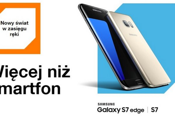 Samsung S7 i S7 Edge w Orange