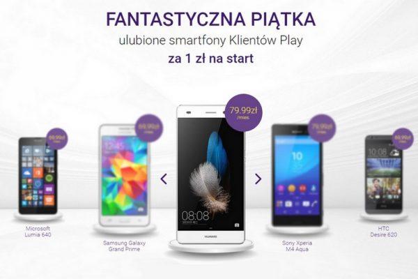 5 najlepszych smartfonów w Play