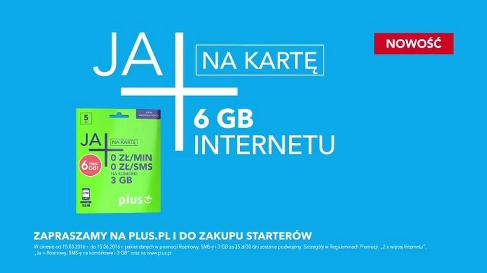 c6336f9043b1e3 Full opcja w Plus na kartę - 6 GB transferu | Komórkomat.pl