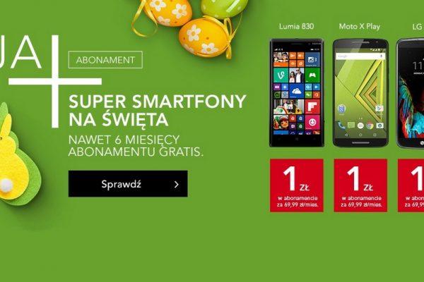 Smartfony w Plusie za 1 zł