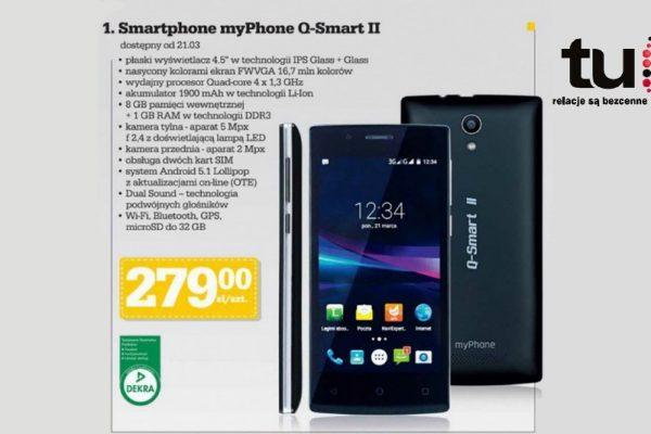 myPhone Q Smart II w Biedronce