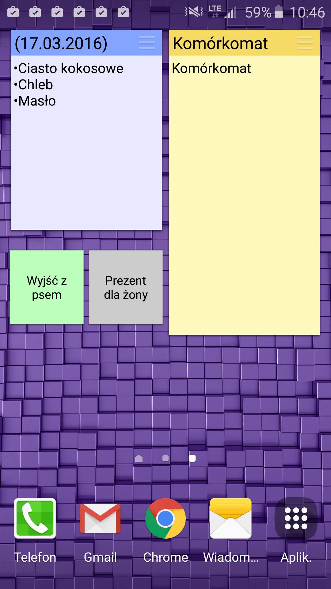 ColorNote aplikacja