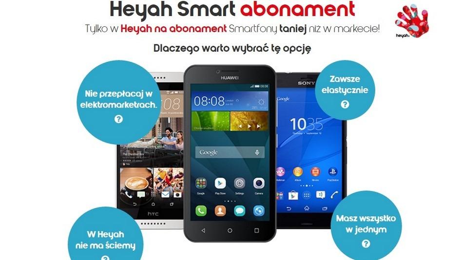 Tanie smartfony w Heyah
