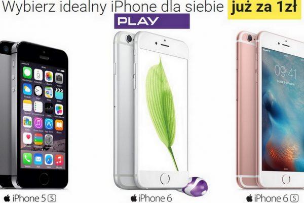 3 modele iPhone'a za 1 zł w Play
