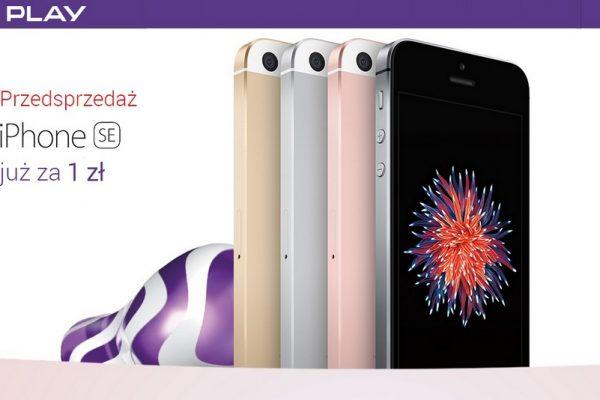 Play - przedsprzedaż iPhone SE