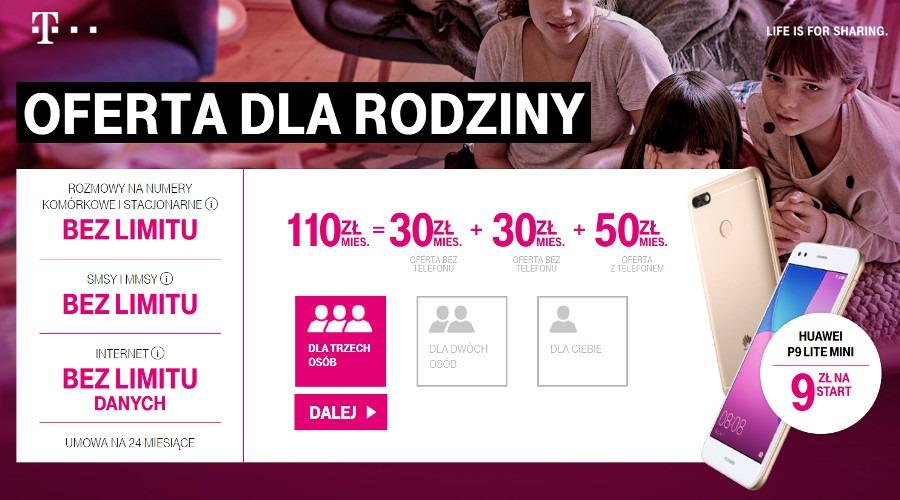 T-Mobile pakiet rodzinny