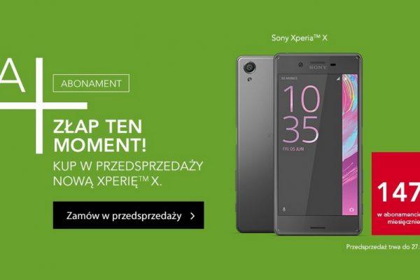 Sony Xperia X w Plusie