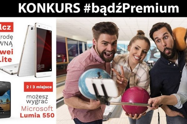 bądźPremium - do wygrania smartfony w Premium Mobile