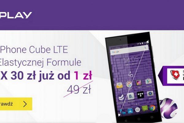 myPhone Cube LTE - promocja w Play