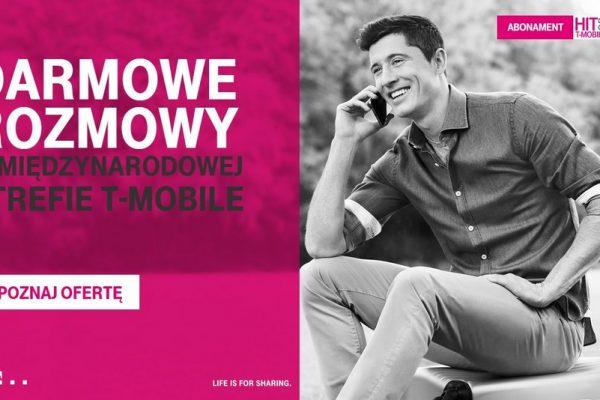 Darmowe połączenia w Międzynarodowej Strefie T-Mobile