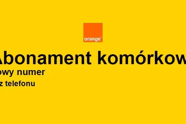 Potrojenie Internetu w Orange na abonament