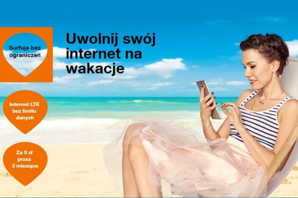 Nielimitowany Internet LTE przez 3 miesiące w Orange