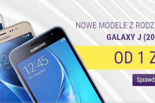 Galaxy J3, J5 i J7 (2016) od 1 zł w Play