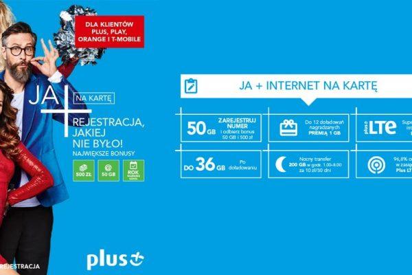 Bonusy za rejestrację karty SIM w Plusie i Plushu