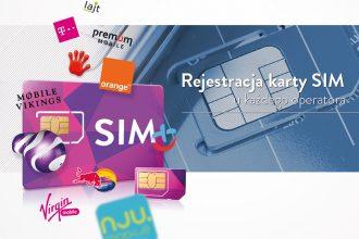 Rejestracja karty SIM