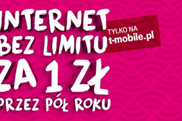 Nielimitowany Internet mobilny T-Mobile