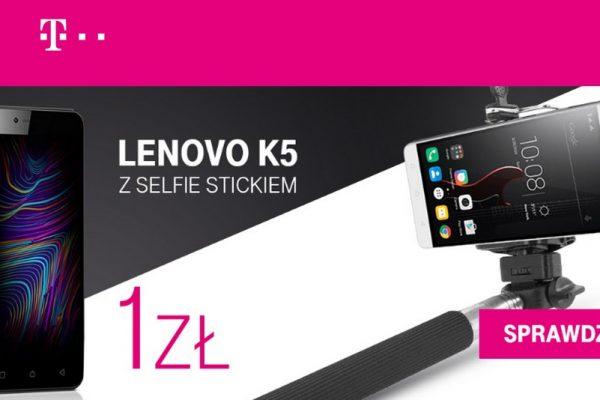 Lenovo K5 i selfie stick w T-Mobile