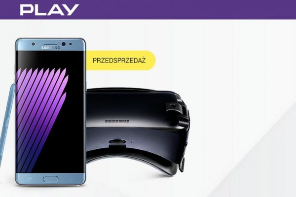 Samsung Galaxy Note 7 - przedsprzedaż w Play