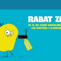 Rabat 20 zł w nju mobile za zakup telefonu