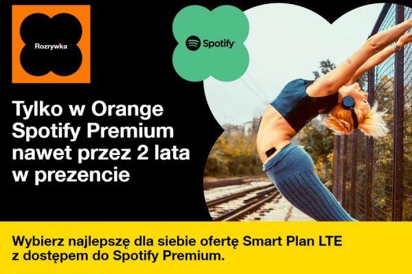 Spotify Premium w Orange za 0 zł