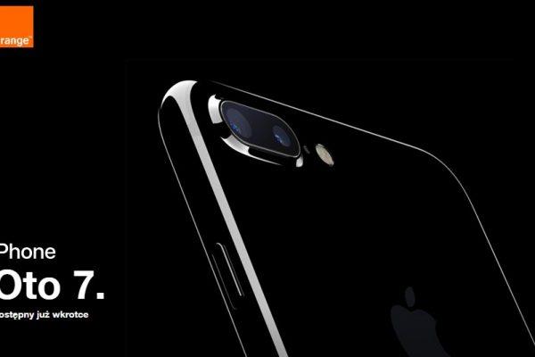 iPhone 7 i iPhone 7 Plus w Orange