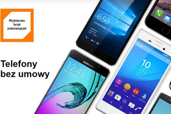 telefony bez umowy Orange