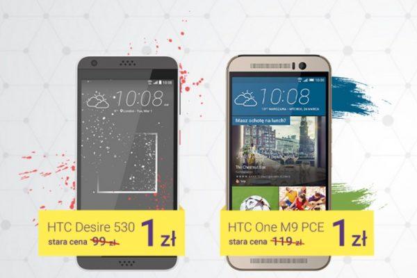 HTC taniej w Play