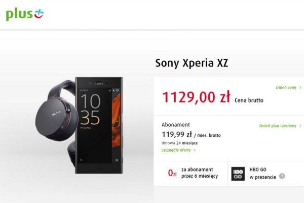 Sony Xperia XZ w Plus GSM
