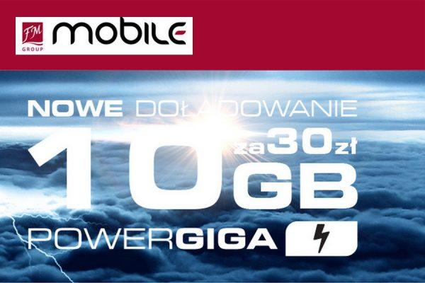 10 dodatkowych GB w FM Group Mobile