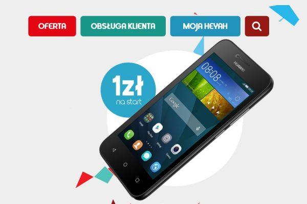 Smartfony w Heyah od 1 zł