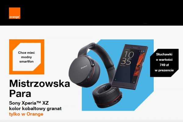 Sony Xperia XZ w Orange
