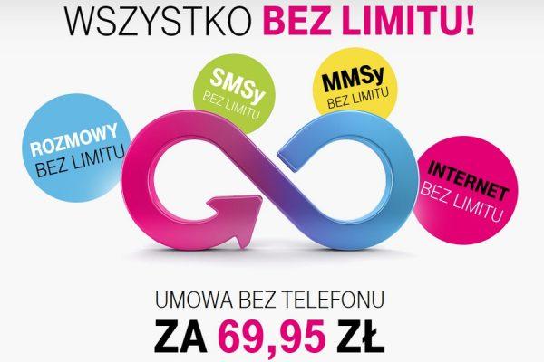 Wszystko bez limitu w T-Mobile