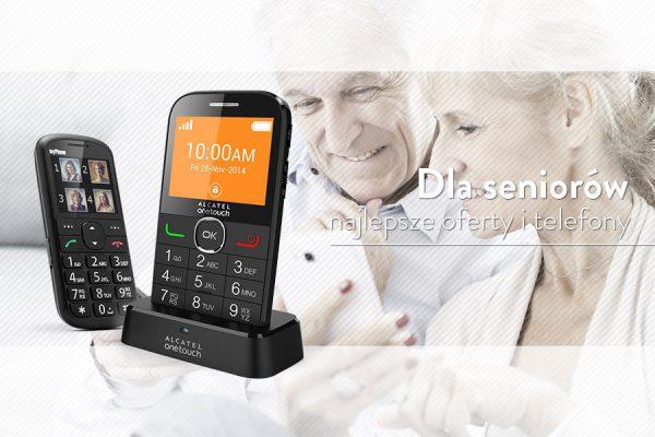 Telefony i oferty komórkowe dla seniorów