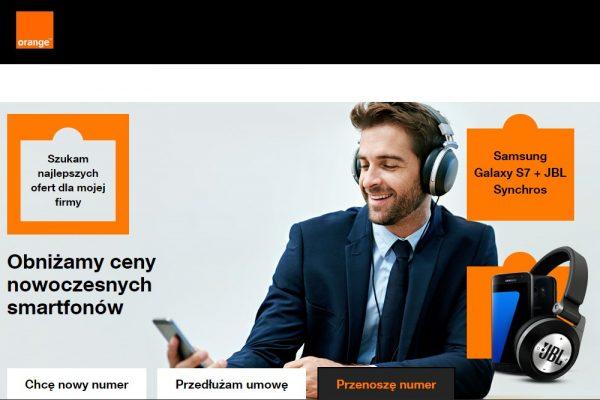 smartfony od 0 zł w Orange dla firm