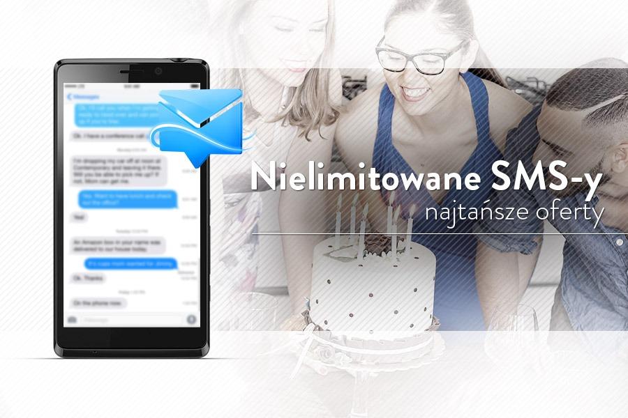 Nielimitowane SMS-y - 5 najtańszych ofert na abonament 44ed34b032e