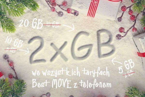 2x więcej GB w Best MOVE