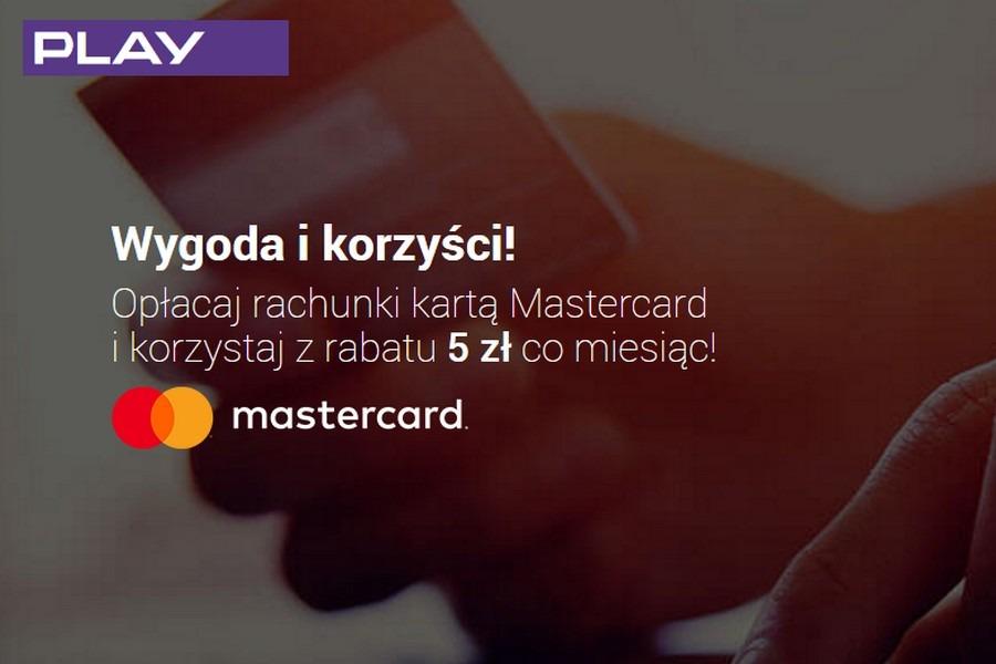 Mastercard - taniej w Play o 5 zł