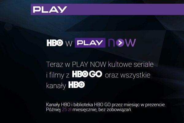 HBO w abonamencie Play