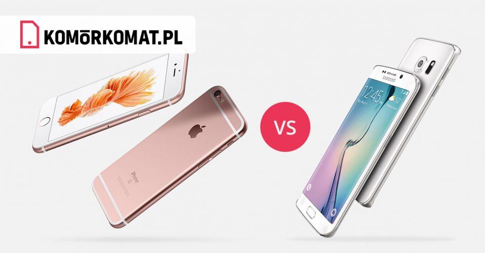 w czym iphone jest lepszy od samsunga
