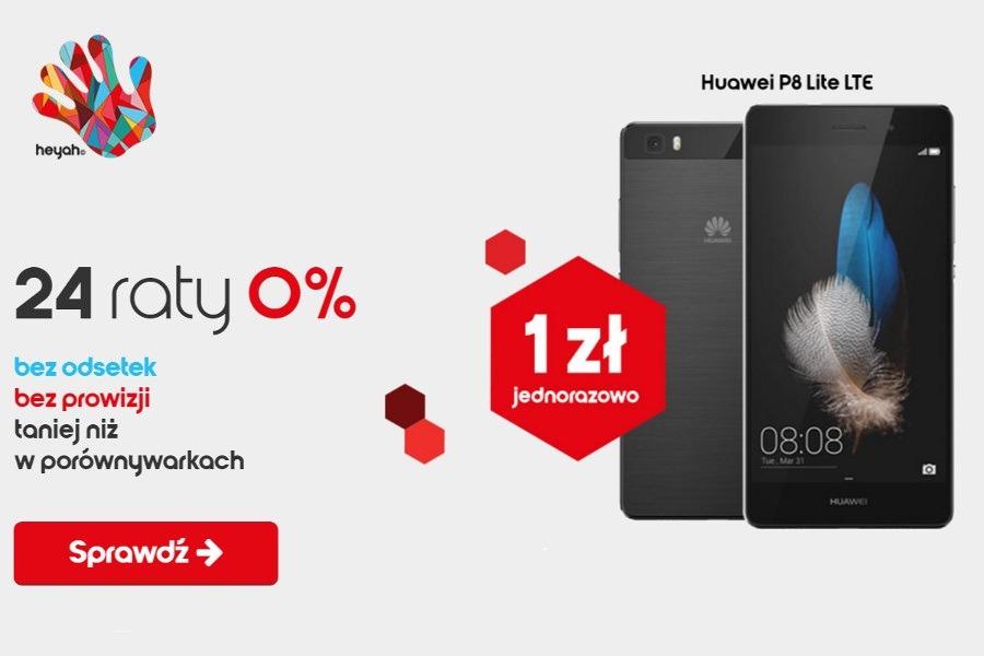telefony na raty 0% w Heyah
